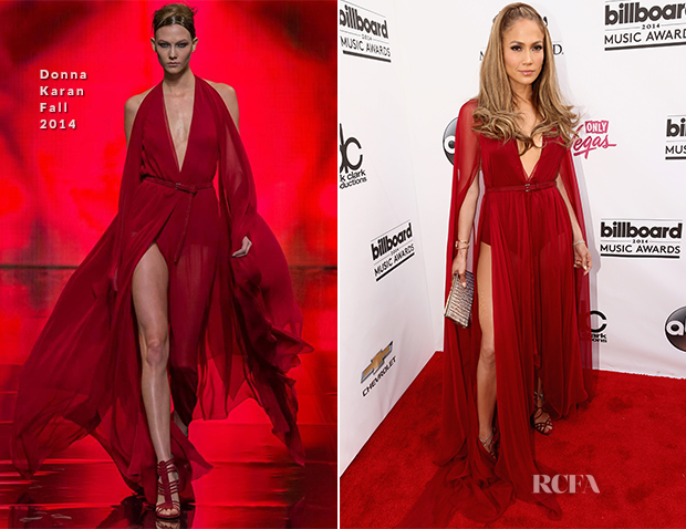 Jennifer Lopez In Donna Karan - 2014 Billboard Music Awards