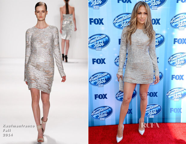 Jennifer Lopez In Kaufmanfranco - 'American Idol' Season 13 Grand Finale