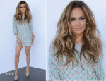 Jennifer Lopez In Lorena Sarbu - 'American Idol Season 13: Top 4 To 3′ Live Show