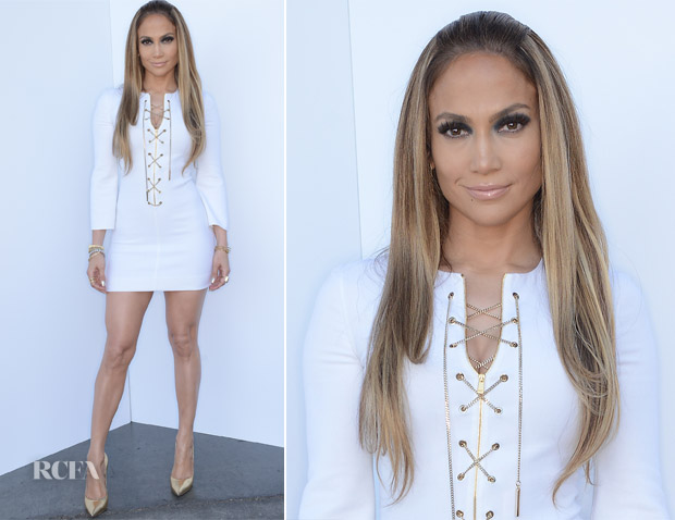 Jennifer Lopez In Michael Kors - 'American Idol Season 13 Top 4 To 3′ Elimination Show