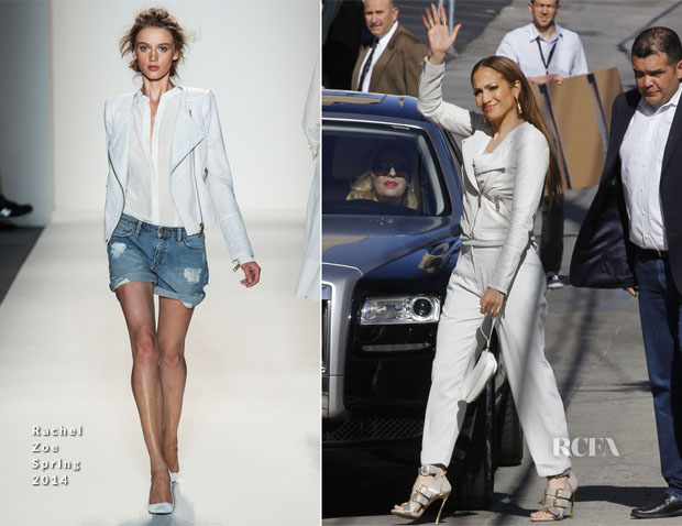 Jennifer Lopez In Rachel Zoe - Jimmy Kimmel Live