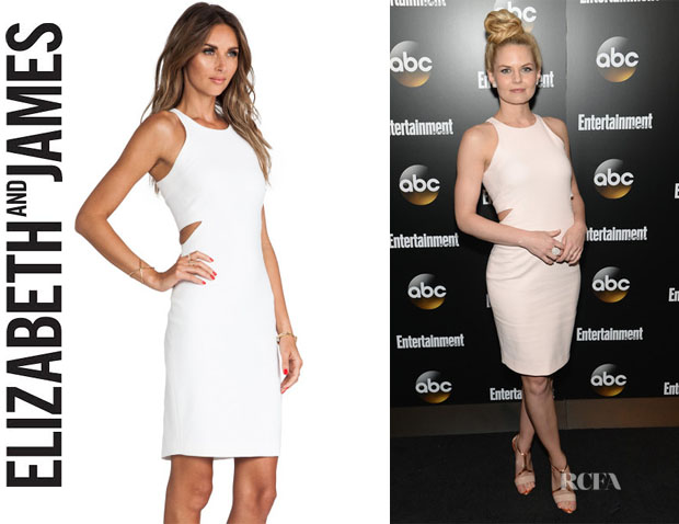 Jennifer Morrison's Elizabeth and James 'Lela' Cutout Body-Con Dress