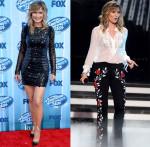 Jennifer Nettles In Philip Armstrong & Elisabetta Franchi - 'American Idol' Season 13 Grand Finale