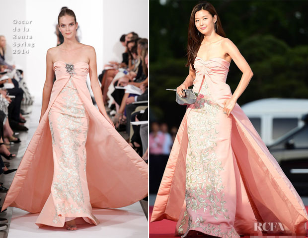 Jeon Ji-Hyun In Oscar de la Renta - 50th Paeksand Arts Awards
