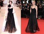 Jess Weixler In Armani Privé - 'Foxcatcher' Cannes Film Festival Premiere