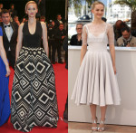 Jess Weixler In Martin Grant & Honor - 'The Disappearance of Eleanor Rigby' Cannes Film Festival Premiere & Photocall