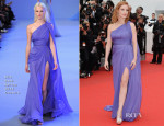Jessica Chastain In Elie Saab Couture - 'Foxcatcher' Cannes Film Festival Premiere