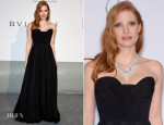 Jessica Chastain In Givenchy Couture - amfAR Cinema Against Aids Gala