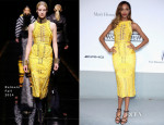 Jourdan Dunn In Balmain - amfAR Cinema Against Aids Gala
