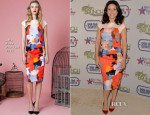 Julia Louis-Dreyfus In Lela Rose - 2014 Annual Garden Brunch