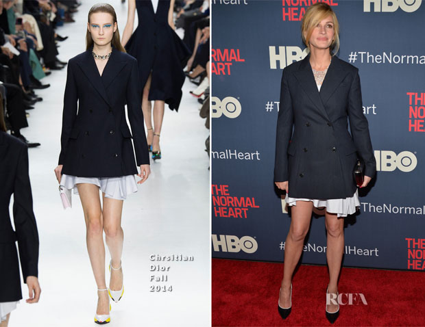 Julia Roberts In Dior - 'The Normal Heart' New York Premiere2