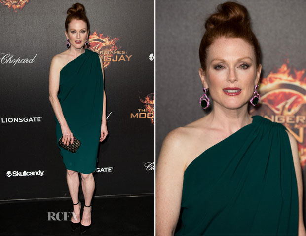 Julianne Moore In Lanvin - 'The Hunger Games Mockingjay Part 1' Party