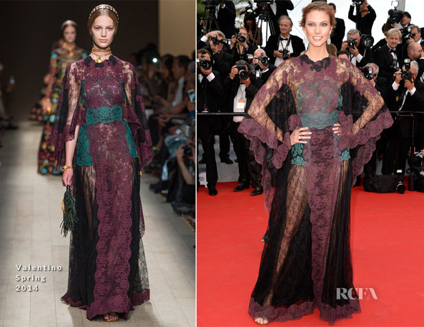 Karlie Kloss In Valentino - 'Grace of Monaco' Cannes Film Festival Premiere & Opening Ceremony