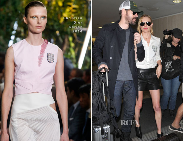 Kate Bosworth In Christian Dior - LAX
