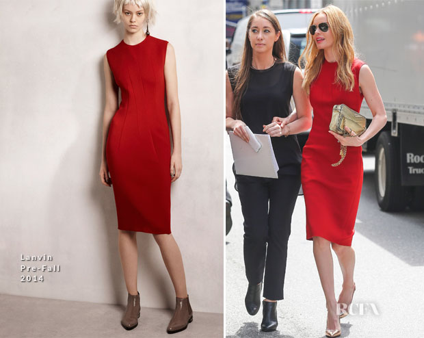 Kate Bosworth In Lanvin - Out In New York City