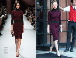 Kate Bosworth In Nina Ricci - Out In New York City