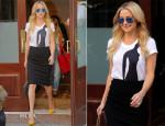 Kate Hudson In Osman & RVN - Out In New York City
