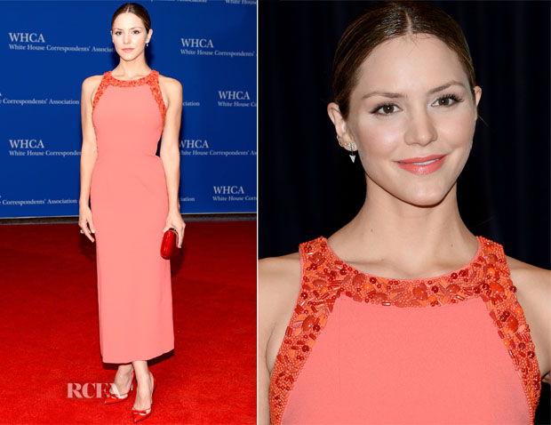Katherine McPhee In Paule Ka - 100th Annual White House Correspondents' Association Dinner