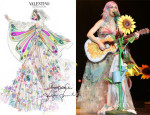 Katy Perry In Valentino Couture, Roberto Cavalli & Fausto Puglisi - Prismatic World Tour