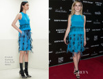 Kiernan Shipka In Prabal Gurung - 'God's Pocket' LA Premiere
