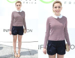 Kiernan Shipka In Tory Burch - Mother's Day Carnival in Support of Born Free Africa