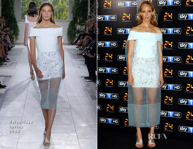 Kim Raver In Balenciaga - '24 Live Another Day'