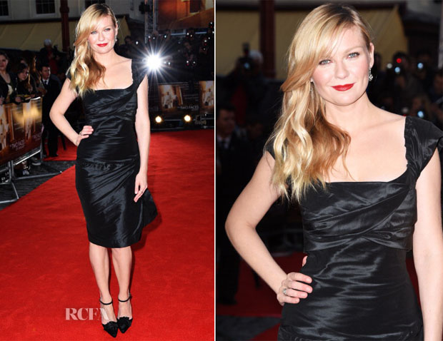Kirsten Dunst In Vivienne Westwood - 'The Two Faces Of January' London Premiere