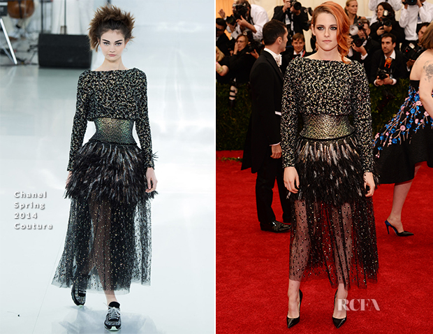 Kristen Stewart In Chanel Couture - 2014 Met Gala