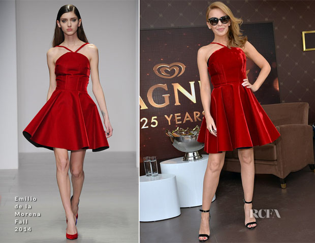 Kylie Minogue In Emilio de la Morena - Magnum 25th Anniversary Promotion