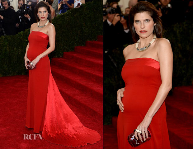 Lake Bell  In Tommy Hilfiger -  2014 Met Gala