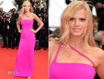 Lara Stone In Calvin Klein Collection - 'The Search' Cannes Film Festival Premiere