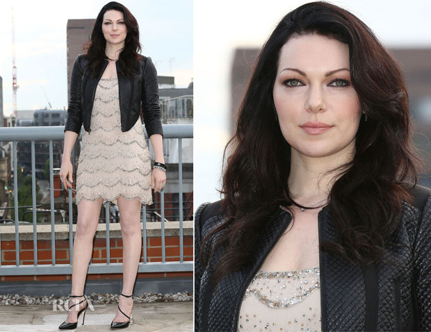 Laura Prepon In Alice + Olivia - 'Orange Is The New Black' Season 2 London Photocall