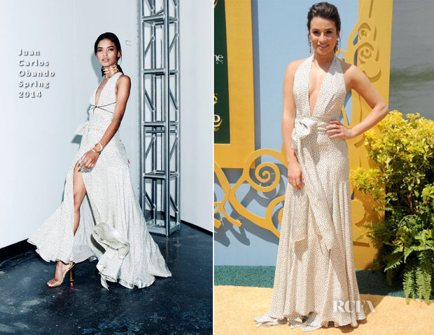 Lea Michele In Juan Carlos Obando - 'Legends Of Oz Dorothy's Return' LA Premiere