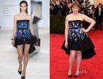 Lena Dunham In Giambattista Valli Couture - 2014 Met Gala