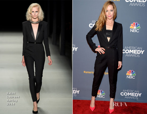 Leslie Mann In Saint Laurent - American Comedy Awards 2014