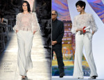 Li Yuchun 李宇春 In Chanel Couture - Cannes Film Festival Closing Ceremony