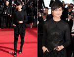 Li Yuchun 李宇春 In Givenchy Couture - 'A Fistful of Dollars' Cannes Film Festival Screening & Closing Ceremony