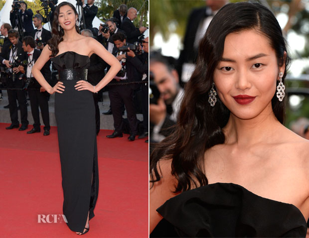 Liu Wen In Saint Laurent - 'Two Days, One Night' ('Deux Jours, Une Nuit') Cannes Film Festival Premiere
