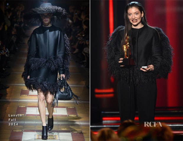 Lorde In Lanvin - 2014 Billboard Music Awards