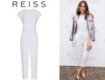 Louise Roe's Reiss Cropped Jumpsuit