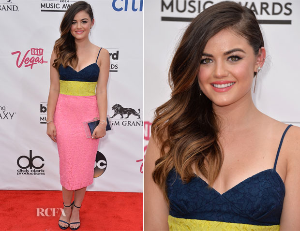 Lucy Hale In Alex Perry - 2014 Billboard Music Awards