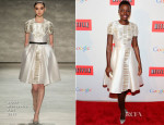 Lupita Nyong'o In Bibhu Mohapatra - People and Time Magazine White House Correspondents Cocktail Party