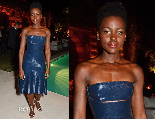 Lupita Nyong'o In Calvin Klein Collection - Calvin Klein Celebrate Women In Film