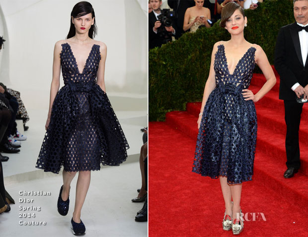 Marion Cotillard In Christian Dior Couture - 2014 Met Gala