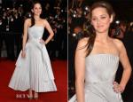 Marion Cotillard In Christian Dior - 'L'Homme Qu'On Aimait Trop' Cannes Film Festival Premiere