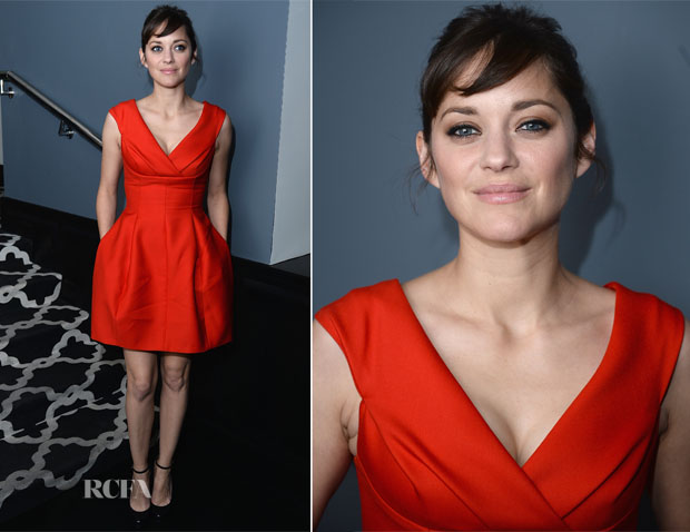 Marion Cotillard In Dior - 'The Immigrant' After-Party
