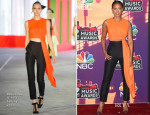 Mel B In Roksanda Ilincic - 2014 iHeartRadio Music Awards