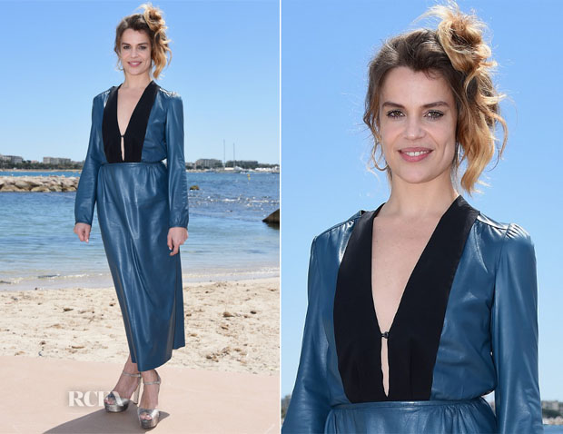 Micaela Ramazzotti In Prada - 'Piu' Buio Di Mezzanotte Cannes Film Festival Photocall