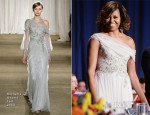 Michelle Obama In Marchesa - 100th Annual White House Correspondents' Association Dinner