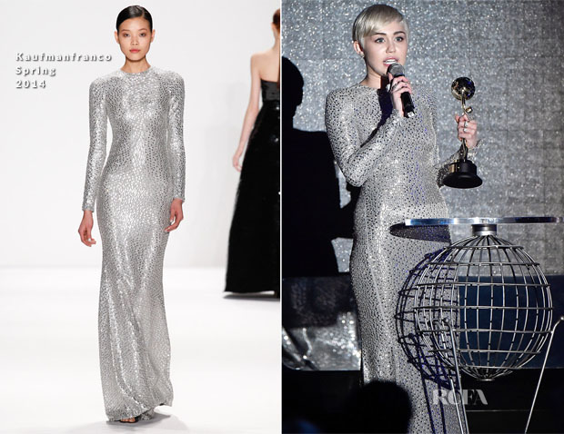 Miley Cyrus In Kaufmanfranco - World Music Awards 2014